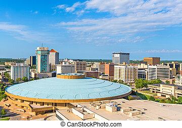 Wichita, Kansas, USA Skyline