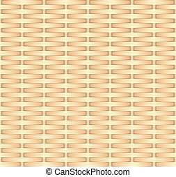 wicker background, seamless pattern