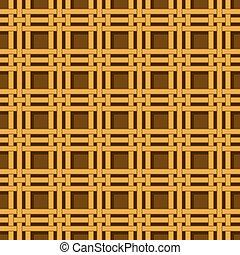 wicker basket weaving pattern seamless texture