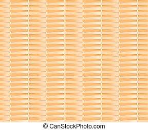 Wicker cane pattern background