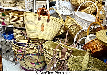 Wicker handicraft