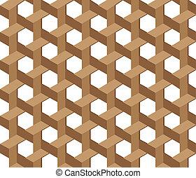 Wicker pattern seamless background