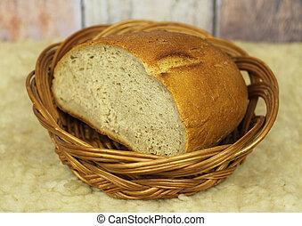 wicker, scuttle, brood