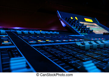 Wide Angle Professional Audio Mixing Board/ Console