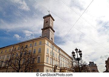 City hall in Lviv (Lemberg)