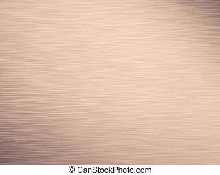 Wide bronze metallic aluminum industrial textured background