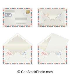 wide envelope