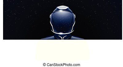 wide image of spaceman