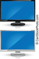 wide-screen, monitores