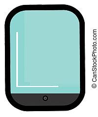Wide Screen Smart Phone Cartoon Character