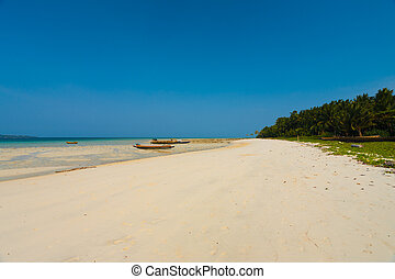 Wide White Sand Beach Five Havelock Island