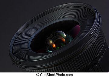 wideangle, bello, lens.