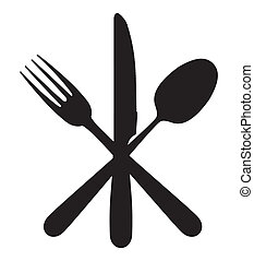 widelec, łyżka, nóż