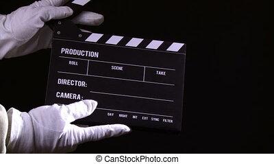 wideoklipy, kołatka, clapperboard, 2