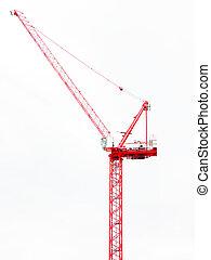 wieża, żuraw zbudowania