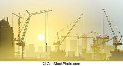 wieża żurawie