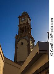 wieża, casablanca, zegar
