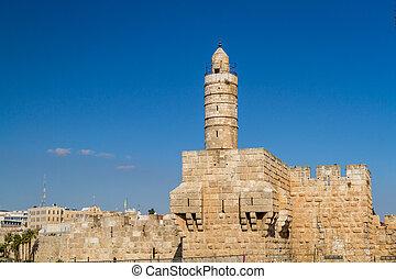 wieża, jerozolima, dawid, cytadela