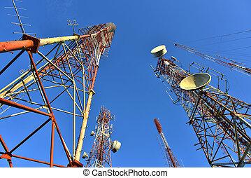wieża, telekomunikacja
