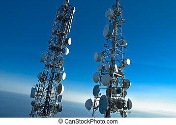 wieże, telekomunikacje