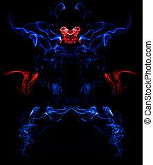Ph?nix - Wie ein Ph?nix aus der Asche. Rauch kombiniert in...