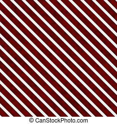 wiederholung, muster, hintergrund, weißes, gestreift, rotes