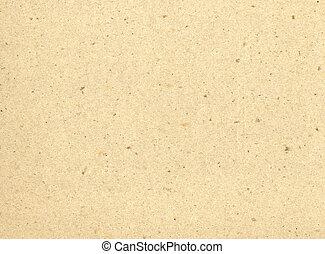 wiederverwertet, papier, beige