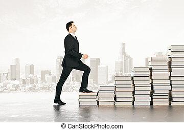 wiedza, schody, pojęcie