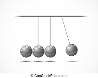 wiegje, het in evenwicht brengen, gelul newton