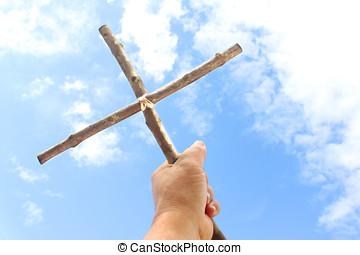 wiejski, krzyż
