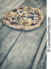 wiejski, pizza