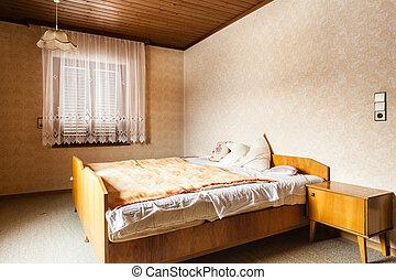 wiejski, sypialnia