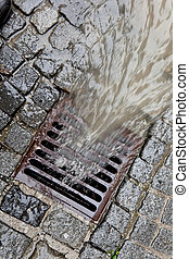 wieko, rainwater, kanał