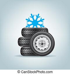 wielen, set, winter