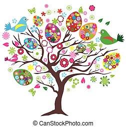 wielkanoc, drzewo