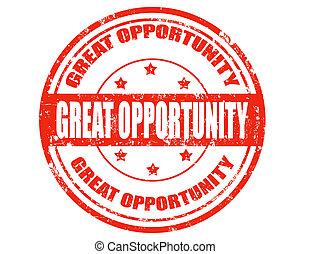 wielki, opportunity-stamp
