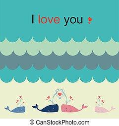 wieloryb, miłość