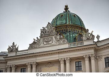 wien, hofburg, -, österreich, palast