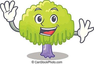 wierzbowe drzewo, rysunek, falować, formułować, rysunek