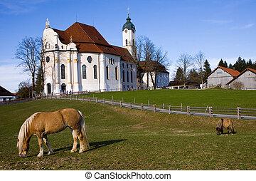 wieskirche, santuario