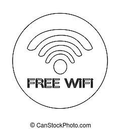 wifi, アイコン
