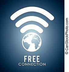 wifi, 接続