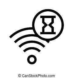 wifi, 砂時計