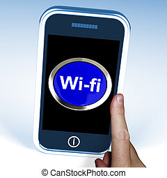 Wifi Button On Mobile Shows Hotspot Or Internet Connection