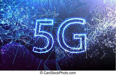 wifi, connexion sans fil, internet, nouveau, 5g