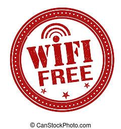 WIFI free stamp