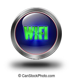 WIFI glossy icon