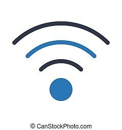 wifi glyph color icon