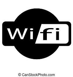 wifi, gratuite, internet
