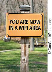 wifi, hotspot, meldingsbord